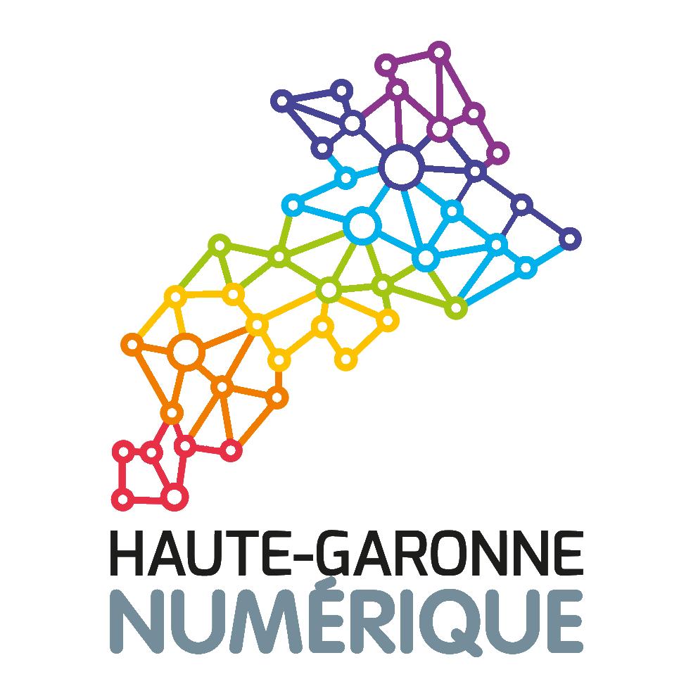 logo de Haute Garonne Numérique