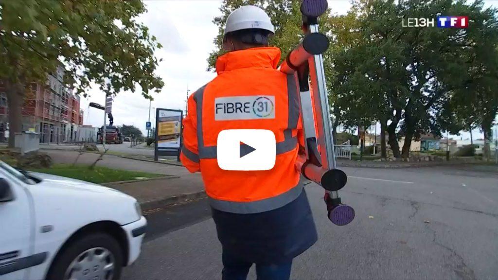 Technicien fibre Réseau Fibre 31 + Bouton vidéo