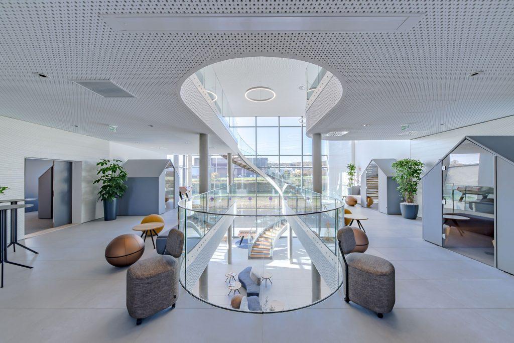 Siège social Altitude Infra - Atrium